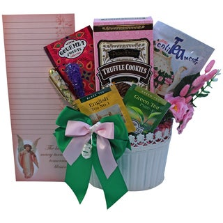 Art of Appreciation Tea and Stationery Gift Basket