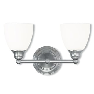 Livex Lighting Somerville Brushed Nickel 2-light Bath Light