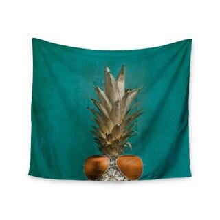 Kess InHouse Chelsea Victoria '24 Karat Pineapple' 51x60-inch Wall Tapestry