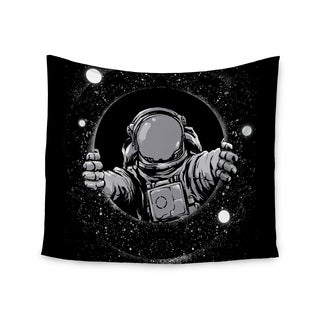 Kess InHouse Digital Carbine 'Black Hole' 51x60-inch Wall Tapestry