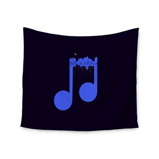 Kess InHouse Digital Carbine 'Night Music' 51x60-inch Wall Tapestry