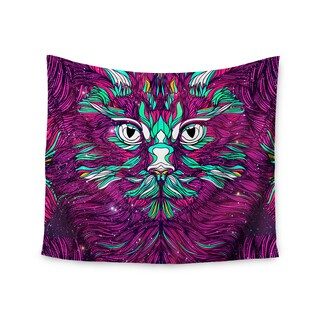 Kess InHouse Danny Ivan 'Space Cat' 51x60-inch Wall Tapestry