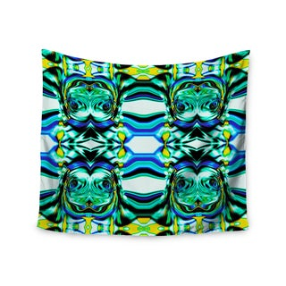 Kess InHouse Dawid Roc 'Inspired By Psychedelic Art 5' 51x60-inch Wall Tapestry