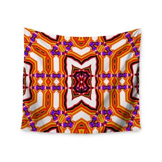 Kess InHouse Dawid Roc 'Inspired By Psychedelic Art 4' 51x60-inch Wall Tapestry