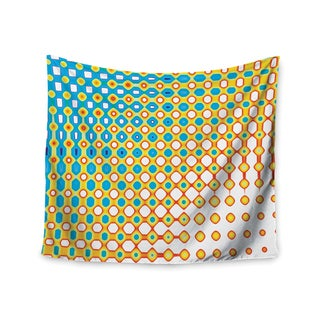 Kess InHouse Dawid Roc 'Psychedelic Art' 51x60-inch Wall Tapestry