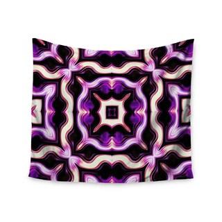 Kess InHouse Dawid Roc 'Vintage Flower Pattern 2' 51x60-inch Wall Tapestry