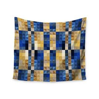 Kess InHouse Dawid Roc 'New Stripes Mosaic' 51x60-inch Wall Tapestry
