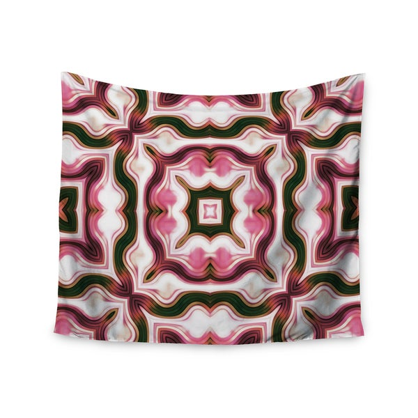Kess InHouse Dawid Roc 'Vintage Floral Pattern 1' 51x60-inch Wall Tapestry