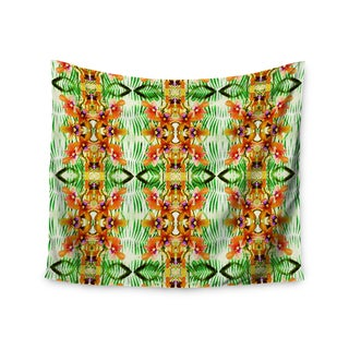 Kess InHouse Dawid Roc 'Colorful Tribal Moasic' 51x60-inch Wall Tapestry