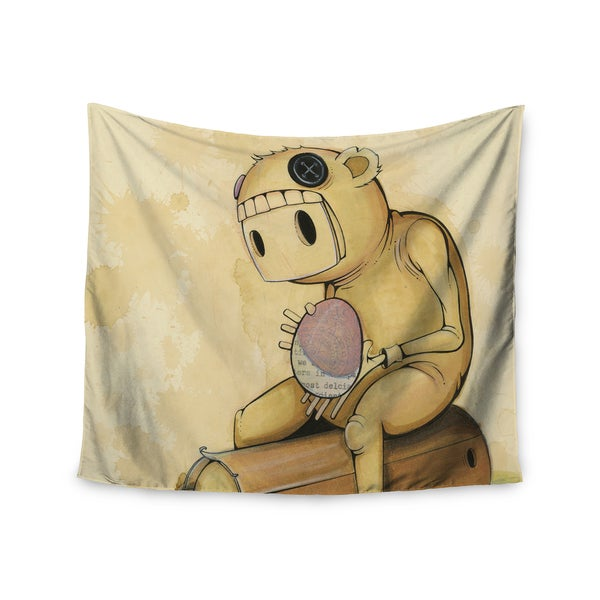 Kess InHouse Matthew Reid 'In All The While' 51x60-inch Wall Tapestry