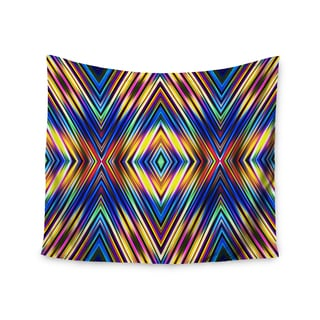 Kess InHouse Dawid Roc 'Multi Colors Modern Tribal' 51x60-inch Wall Tapestry