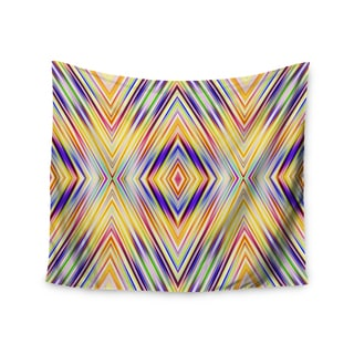 Kess InHouse Dawid Roc 'Colorful Tribal Ethnic Ikat' 51x60-inch Wall Tapestry