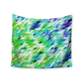 Kess InHouse Dawid Roc 'Colorful Summer Geometric' 51x60-inch Wall Tapestry