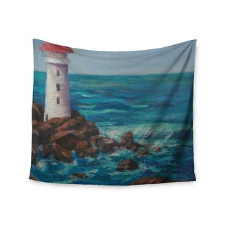Kess InHouse Cyndi Steen 'The Lighthouse Rocks' 51x60-inch Wall Tapestry