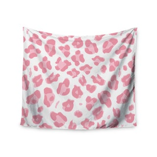 Kess InHouse Wildlife 'Pink Animal Print 2' 51x60-inch Wall Tapestry