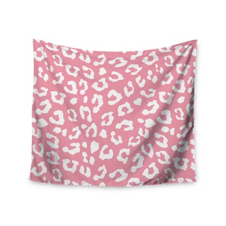 Kess InHouse Wildlife 'Pink Animal Print 1' 51x60-inch Wall Tapestry