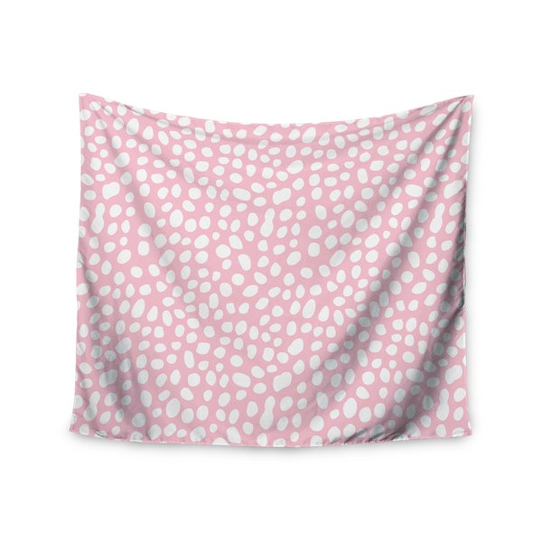 Kess InHouse Wildlife 'Pink Animal Print 4' 51x60-inch Wall Tapestry