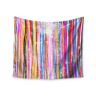 Kess InHouse Frederic Levy-Hadida 'Fancy Stripes Pastel' 51x60-inch Wall Tapestry