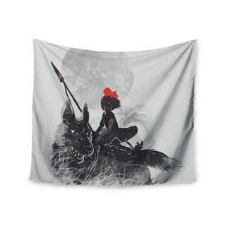 Kess InHouse Frederic Levy-Hadida 'Princess Monokiki' 51x60-inch Wall Tapestry