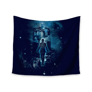 Kess InHouse Frederic Levy-Hadida 'Time Traveller' 51x60-inch Wall Tapestry