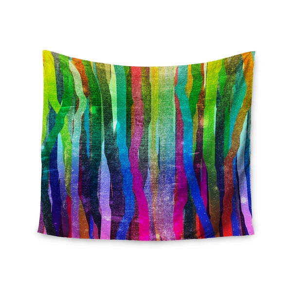 Kess InHouse Frederic Levy-Hadida 'Jungle Stripes' 51x60-inch Wall Tapestry
