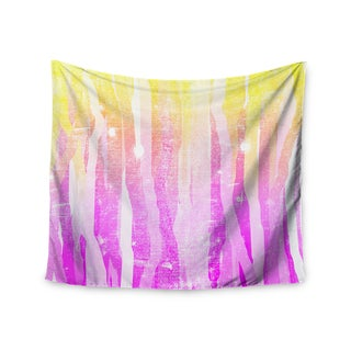 Kess InHouse Frederic Levy-Hadida 'Jungle Stripes Pink' 51x60-inch Wall Tapestry