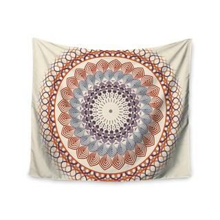 Kess InHouse Famenxt 'Vintage Mandala' 51x60-inch Wall Tapestry