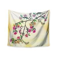 Kess InHouse Famenxt 'Owl' 51x60-inch Wall Tapestry