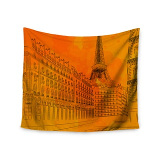 Kess InHouse Fotios Pavlopoulos 'Parisian Sunsets' 51x60-inch Wall Tapestry