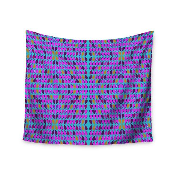 Kess InHouse Fernanda Sternieri 'Optical Paisley' 51x60-inch Wall Tapestry