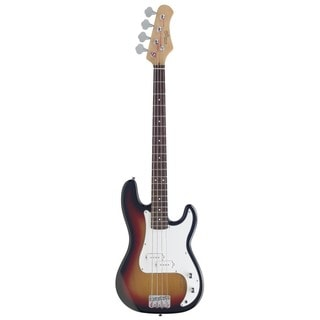 Stagg P300-SB Standard P Sunburst Electric Bass Guitar