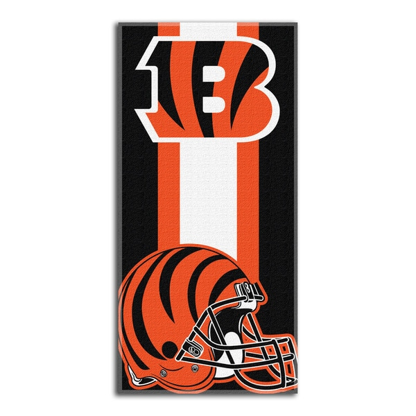 NFL 720 Bengals Zone Read Beach Towel