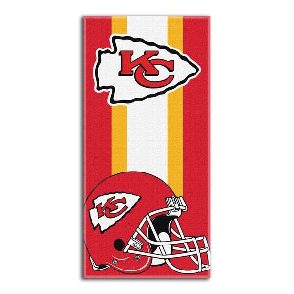 NFL 720 Chiefs Zone Read Beach Towel