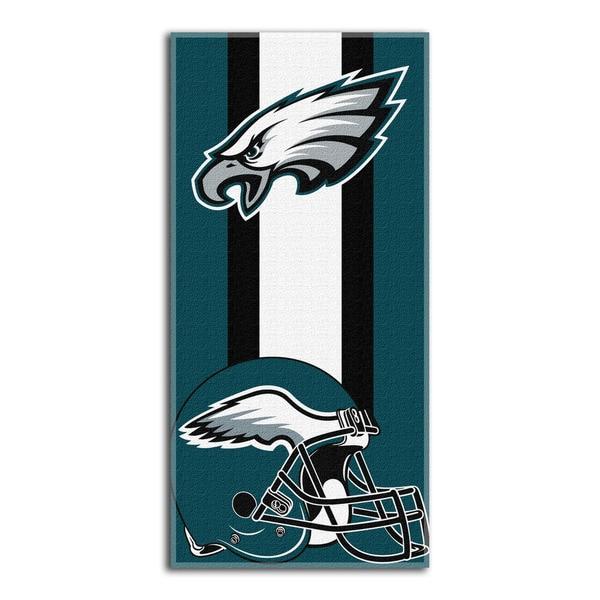 NFL 720 Eagles Zone Read Beach Towel