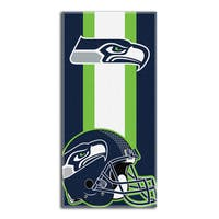 NFL 720 Seahawks Zone Read Beach Towel