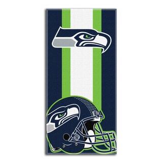 NFL 720 Seahawks Zone Read Beach Towel