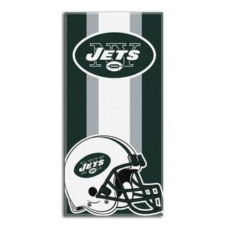 NFL 720 Jets Zone Read Beach Towel