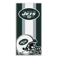 NFL 720 Jets Zone Read Beach Towel