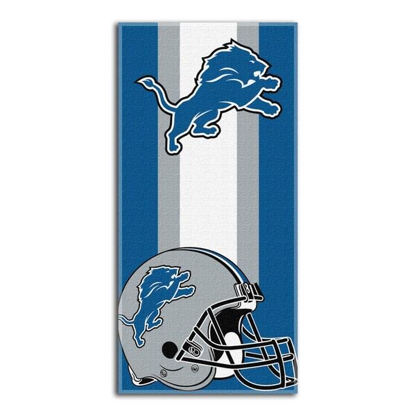 NFL 720 Lions Zone Read Beach Towel