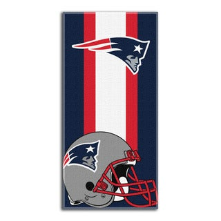 The Northwest Company NFL New England Patriots Zone Read Beach Towel