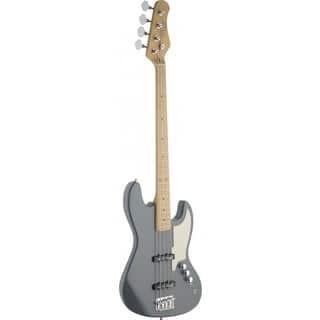 Stagg SBJ-50 MGRE Custom 'J' Style Metallic Grey Electric Bass Guitar|https://ak1.ostkcdn.com/images/products/12104826/P18966982.jpg?impolicy=medium