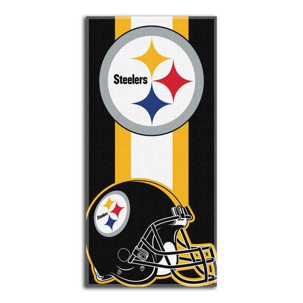 NFL 720 Steelers Zone Read Beach Towel