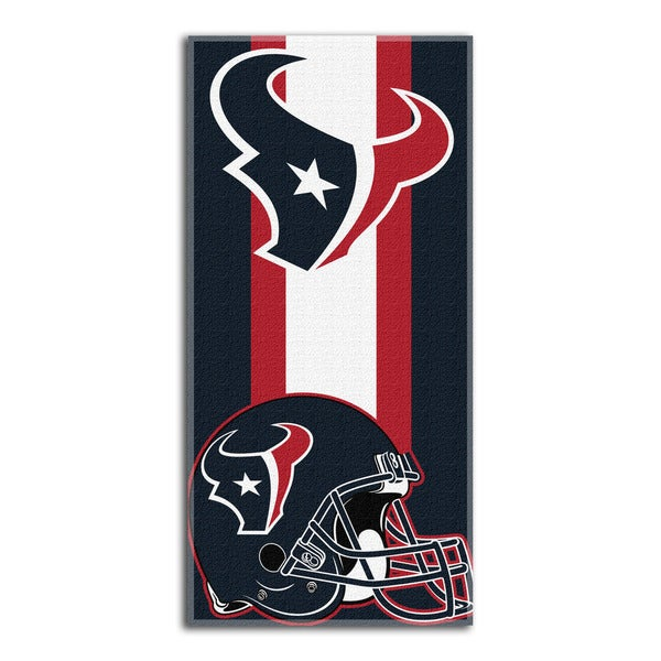 NFL 720 Texans Zone Read Beach Towel