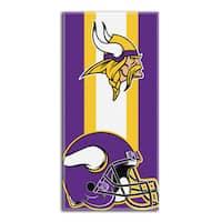 NFL 720 Vikings Zone Read Beach Towel