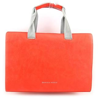 Danielle Nicole Women's 'Nalani Satchel' Orange Faux Leather Handbags