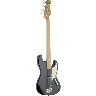 Stagg SBJ-50 BK Black Custom J Style Electric Bass Guitar