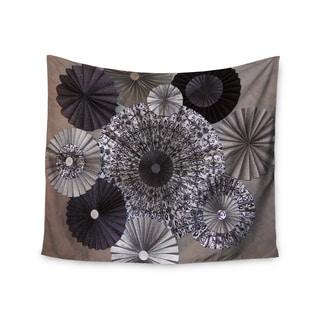 KESS InHouse Heidi Jennings 'Shadows' Dark Circles 51x60-inch Tapestry