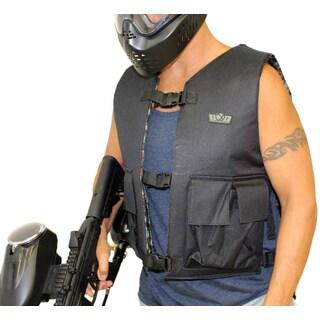 Trinity Digital Camo/Black Nylon Reversible Paintball Vest
