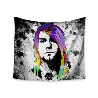 KESS InHouse Ivan Joh 'Grunge' Pop Art Lavender 51x60-inch Tapestry