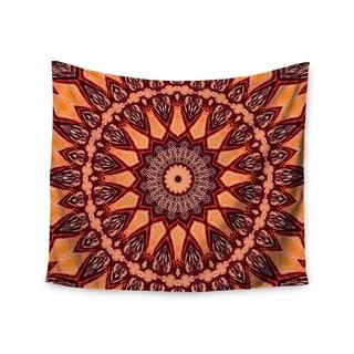 KESS InHouse Iris Lehnhardt 'Colors of Africa' Brown Orange 51x60-inch Tapestry